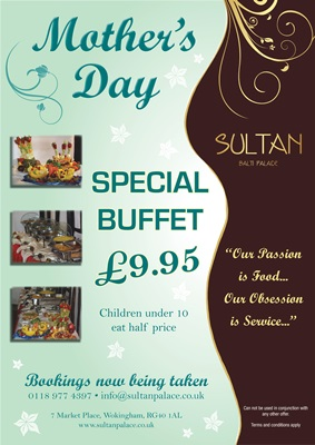 Mothers's Day Special Buffet